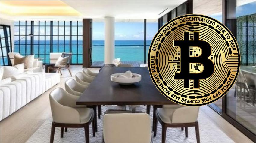 Pagan apartamento de lujo en Miami de 22.5 millones de dólares completamente con criptomonedas