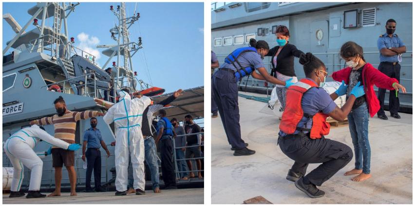 Interceptan a un grupo de 15 balseros cubanos en aguas de Bahamas