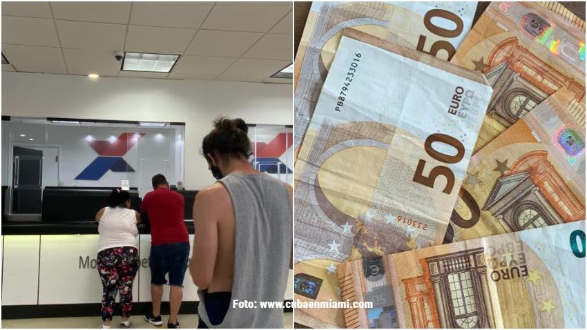 Los euros escasean en Miami y algunos cubanos recorren la ciudad buscando comprar para viajar a Cuba