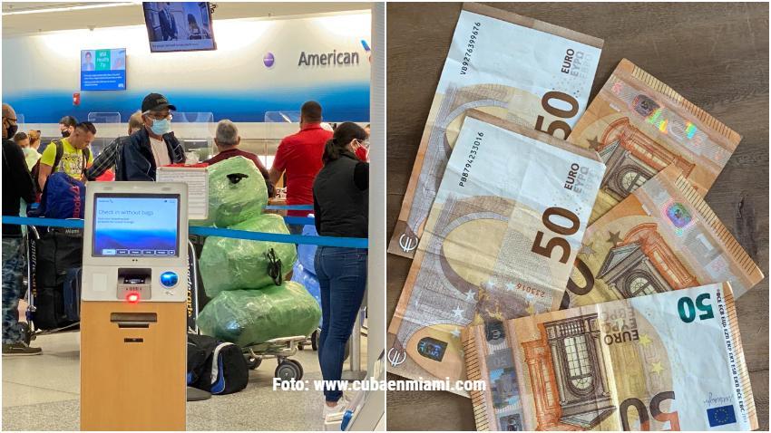 """Cubanos en Miami renuentes a viajar a Cuba llevando Euros: """"Si esto sigue así ni el Jeque de Dubai va a poder viajar"""""""