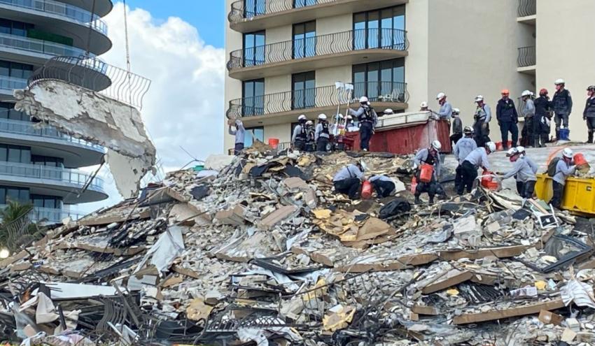 Autoridades de Miami-Dade confirman que cancelan la búsqueda y rescate de sobrevivientes