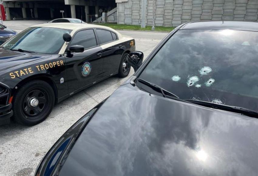 Conductores intercambian disparos durante un incidente de furia en la carretera en la I-95 al noroeste de Miami-Dade