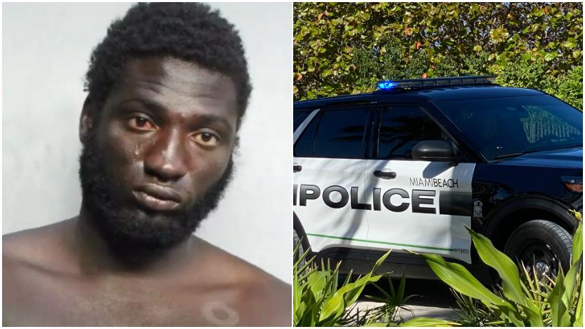Hombre arrestado por presuntamente agredir a 3 turistas de Alabama en Miami Beach