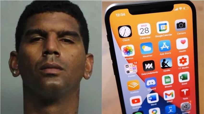 Cubano de Miami es arrestado tras dejar su celular en habitación de hotel donde había robado