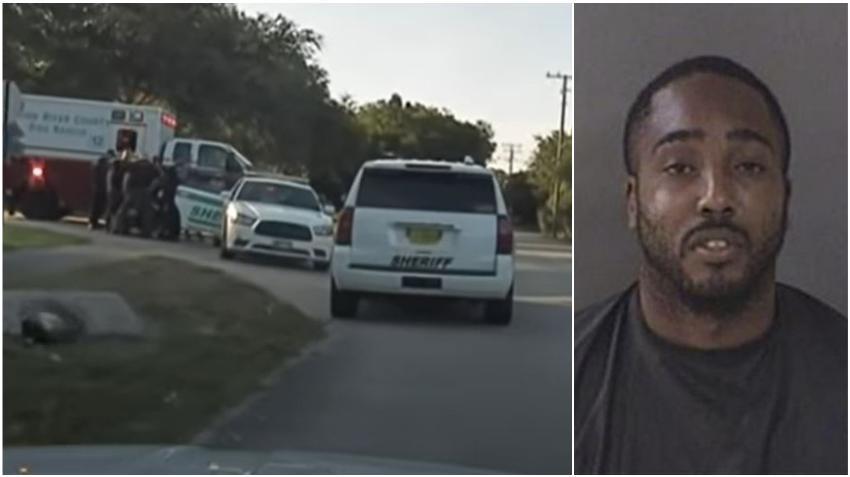 Padre de Florida arroja su bebé a los policías en un intento de huida después de una persecución a alta velocidad