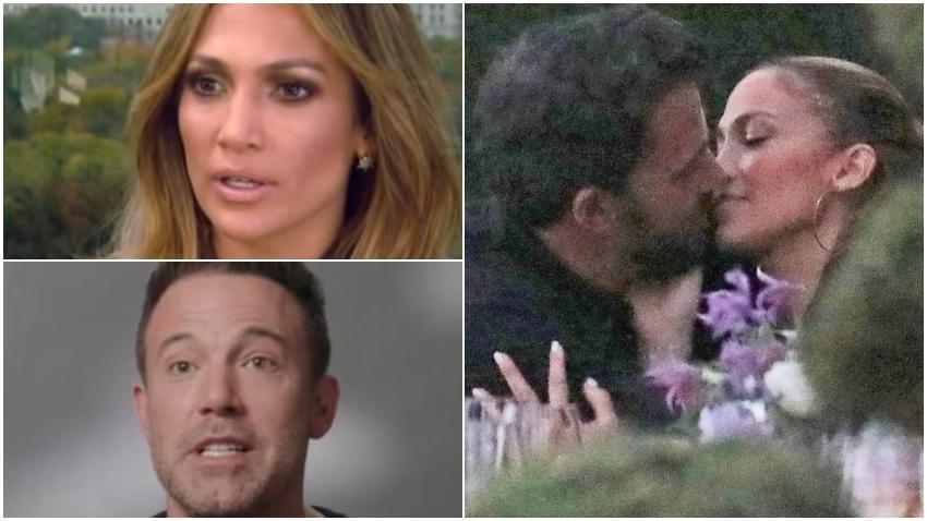 Captan a Jennifer López y Ben Affleck besándose dejando claro que han reconectado