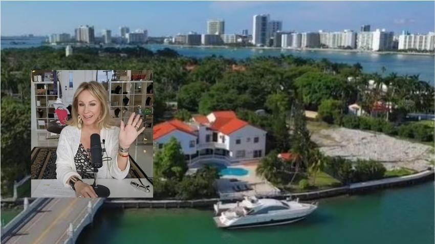 Antigua celebridad del reality Real Housewives pone a la venta su casa en Miami por 34 millones de dólares