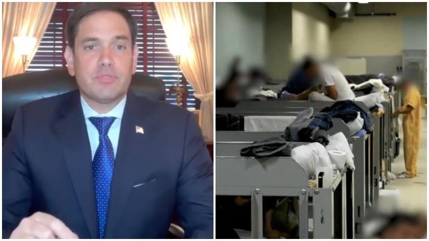 Senador cubanoamericano Marco Rubio propone la Ley de Ajuste Cubano para cubanos que llevan más de un año detenidos en Estados Unidos