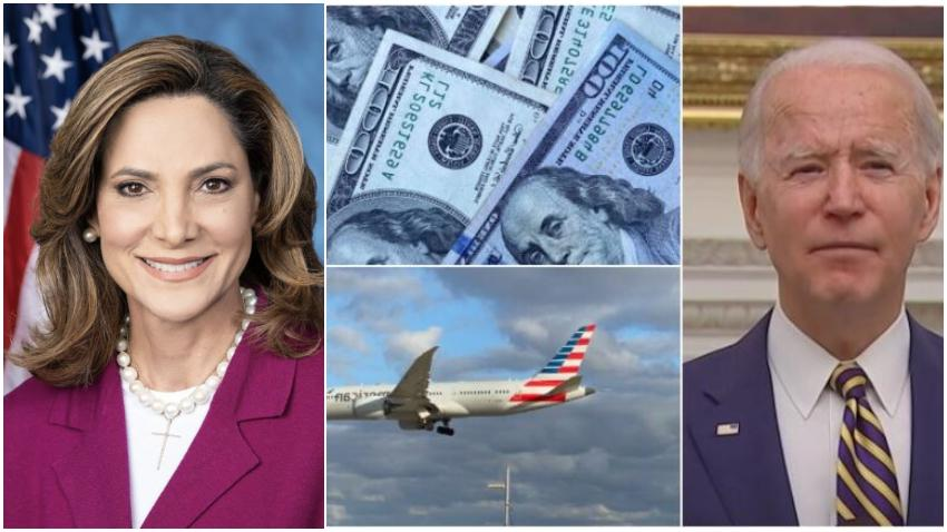 Congresista cubanoamericana María Elvira Salazar crítica posible flexibilización de la Administración Biden hacia Cuba