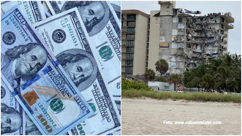 Edificio que colapsó en Surfside al norte de Miami Beach necesitaba más de 9 millones de dólares en reparaciones