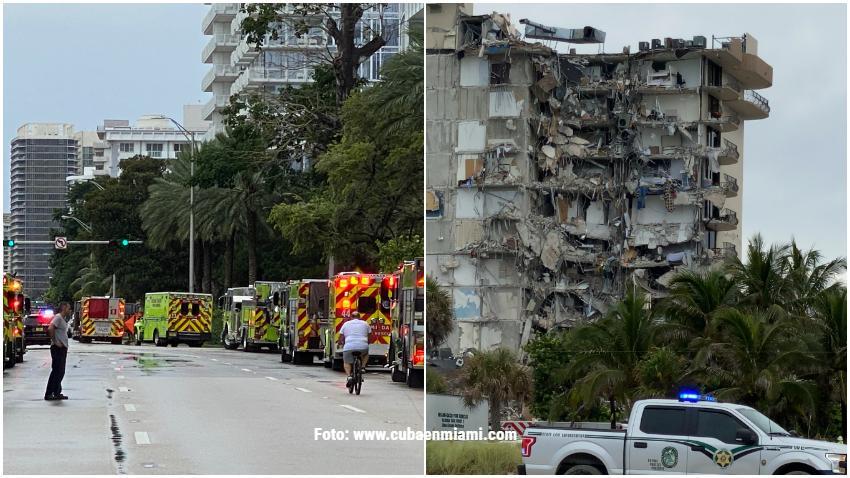 Autoridades publican los nombres de otras cuatro víctimas fallecidas en el colapso del edificio en Surfside