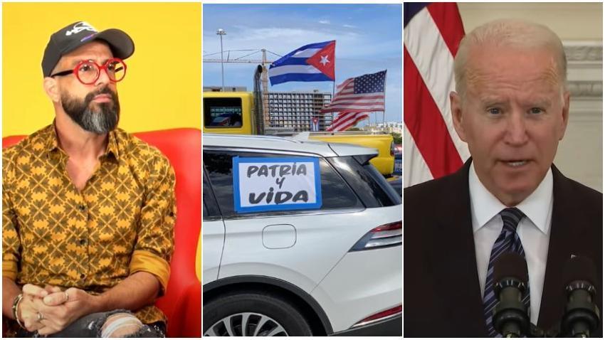 Presentador cubano Alexander Otaola llama a una caravana masiva desde Miami a Washington DC para mostrar a Biden el rechazo a la flexibilización de relaciones con Cuba