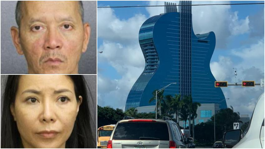 Arrestan a una pareja en el Hard Rock en el Sur de la Florida por dejar a su hijo de 3 años solo en la habitación para irse a jugar al casino