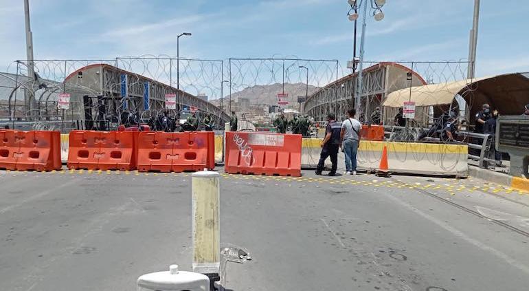 CBP ordenó cerrar por algunas horas un puente en México, para evitar migrantes cubanos cruzaran ilegalmente a EEUU