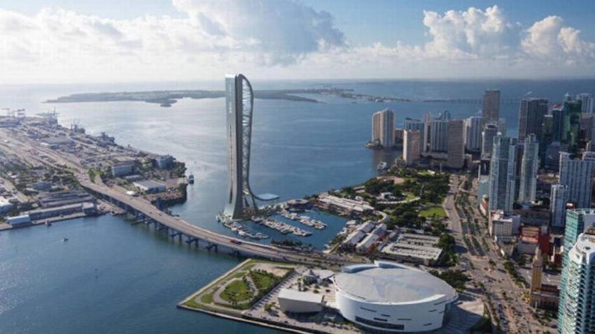Suspenden la construcción en Miami de rascacielos SkyRise que iba a tener un mirador a 1000 pies