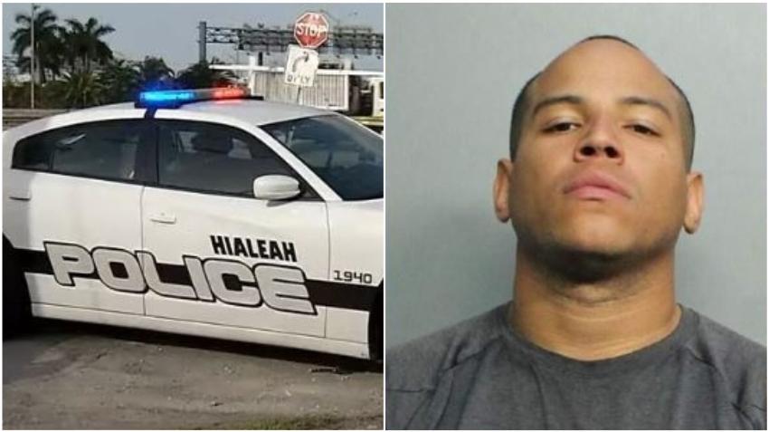Conductor en Hialeah arrestado por exponer sus partes íntimas a una mujer en otro carro