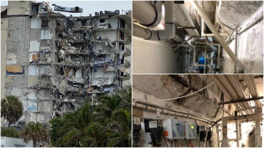 Contratista encontró rajaduras y daños en el edificio colapsado dos días antes de la tragedia