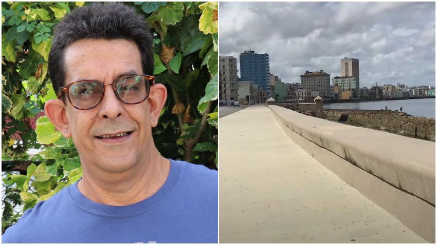 """Ulises Toirac se queja de las restricciones en Cuba: """"¿Alguien me puede explicar por qué no puedo caminar por el malecón?"""""""