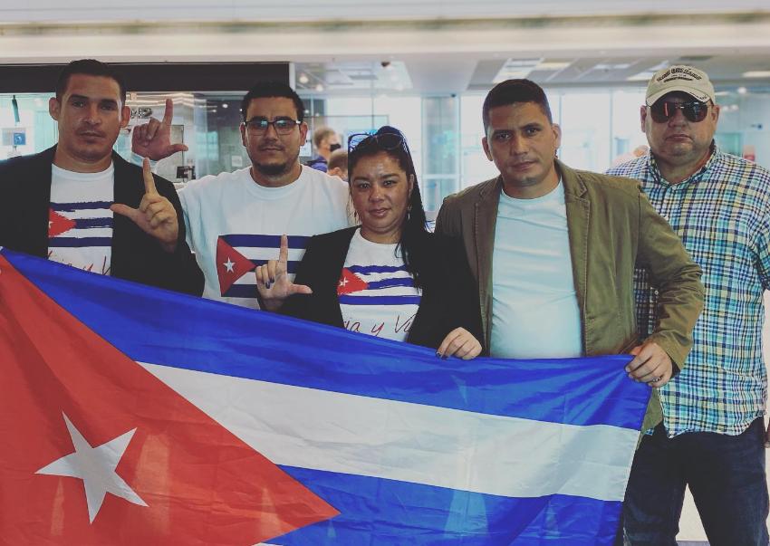 """Eliécer Ávila camino a Washington para solicitar una intervención que """"salve la vida de los cubanos reprimidos por los tiranos"""""""