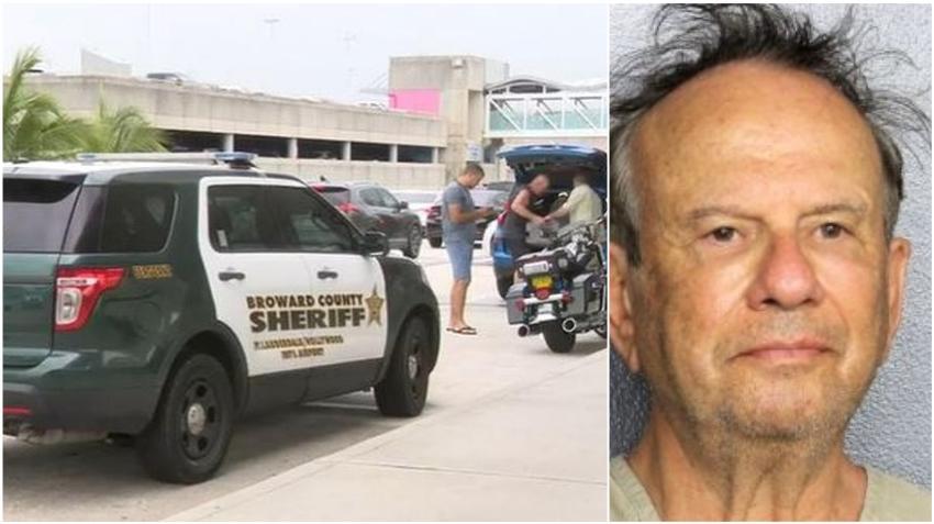 Hombre arrestado por hacer falsa amenaza de bomba en el Aeropuerto Internacional de Fort Lauderdale