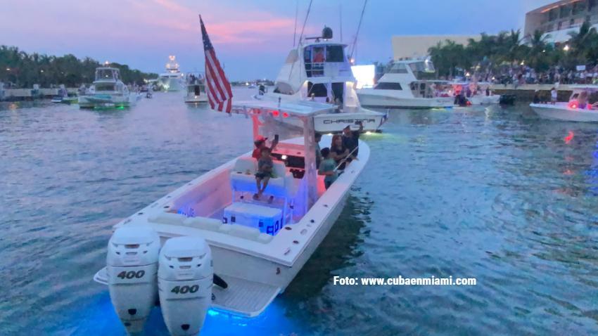 Flotilla de cubanos residentes en Miami saldrá rumbo a aguas cercanas a Cuba