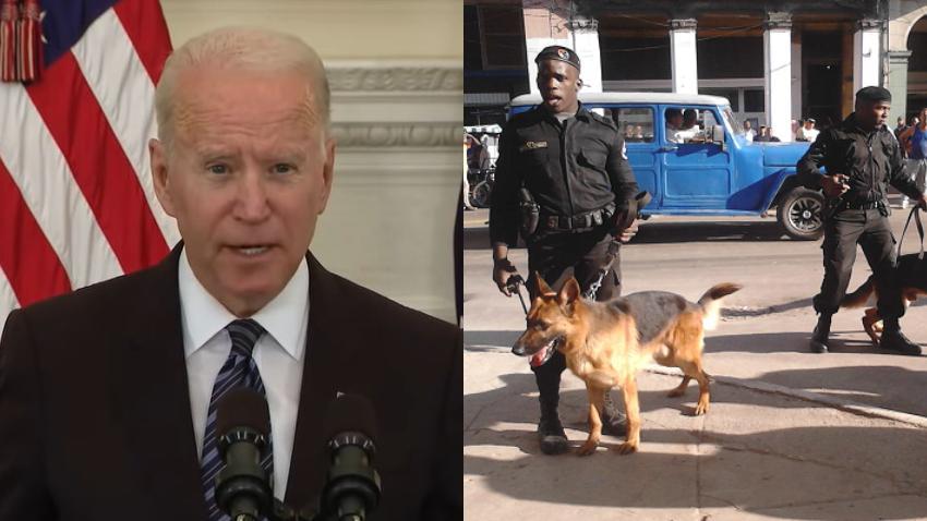 Administración Biden prepara sanciones contra el jefe de los Boinas Negras en Cuba por los abusos contra el pueblo cubano