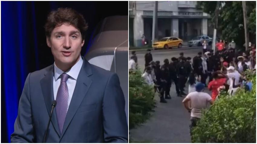 Gobierno de Canadá preocupado por la violenta represión por parte del régimen cubano hacia manifestantes pacíficos