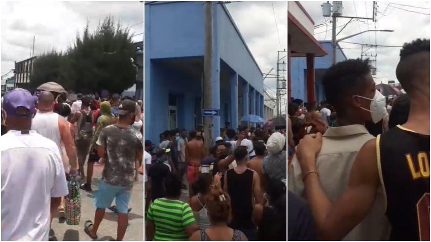 Cubanos en Palma Soriano también se tiran a la calle pidiendo libertad