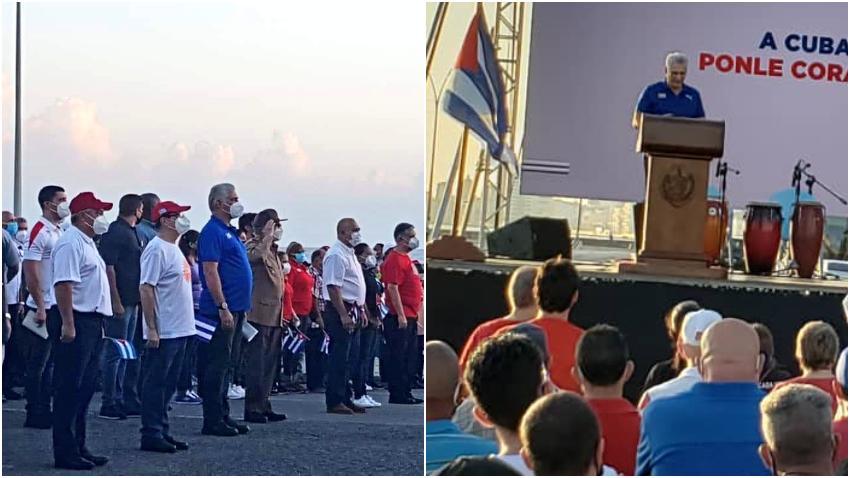 """La dictadura en Cuba convoca a una """"tangana comunista"""" mientras sus esbirros golpean y matan a los cubanos que piden libertad"""