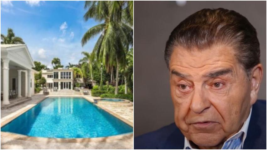 Don Francisco vende su casa en Miami por 24 millones de dólares
