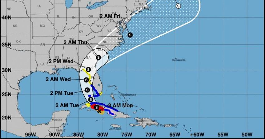 Tormenta Elsa tocará tierra en Cuba en horas de la media tarde