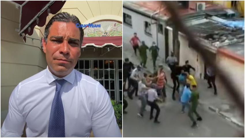 """Alcalde de Miami Francis Suárez: """"La intervención humanitaria en Cuba no puede descartarse"""""""