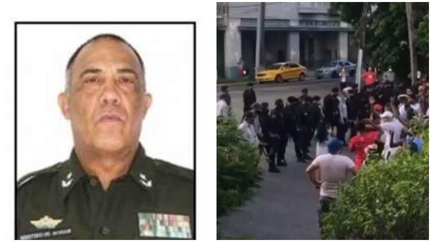 Reportes aseguran que renunció el Viceministro del Interior de Cuba en desacuerdo con la violencia de la represión a las protestas