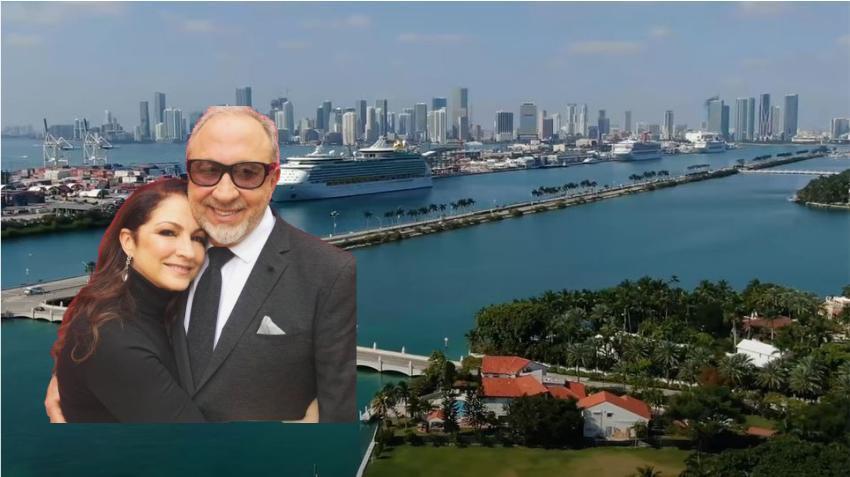 Emilio y Gloria Estefan venden su mansión en Miami por 35 millones de dólares