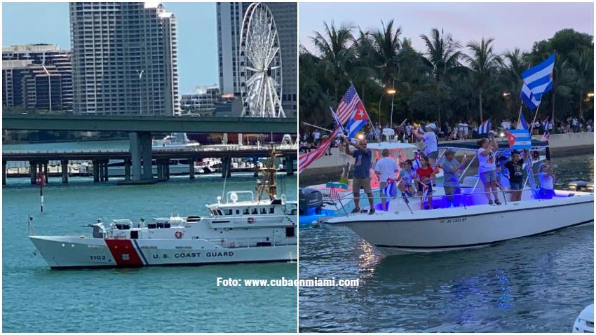 Recomendaciones de la Guardia Costera de Estados Unidos para quienes intentan navegar cerca de las aguas de Cuba