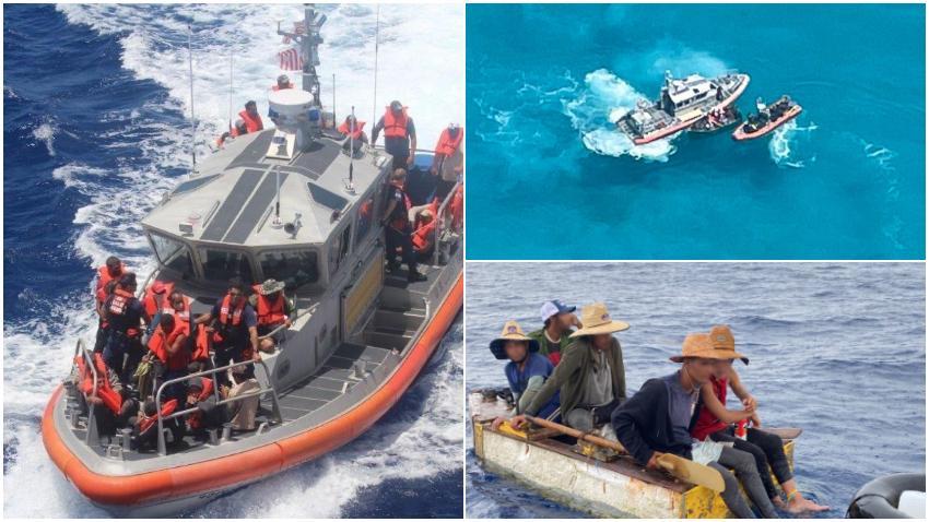 La Guardia Costera de Estados Unidos envía de regreso a Cuba a 27 balseros cubanos