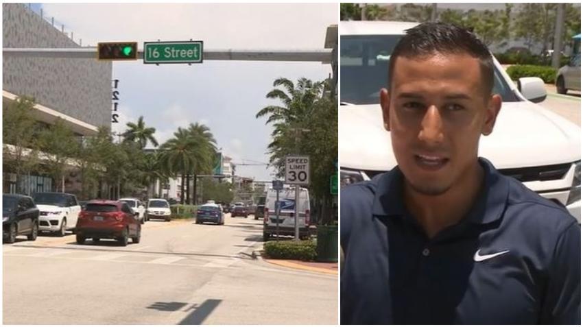Una mujer le dispara a un hombre a plena luz del día en Miami Beach tras incidente de ira en la carretera