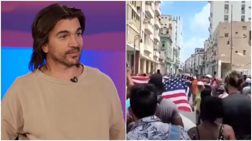 """Juanes describe al comunismo como una """"Mierda"""" """"Los cubanos lo advirtieron desde hace rato"""""""