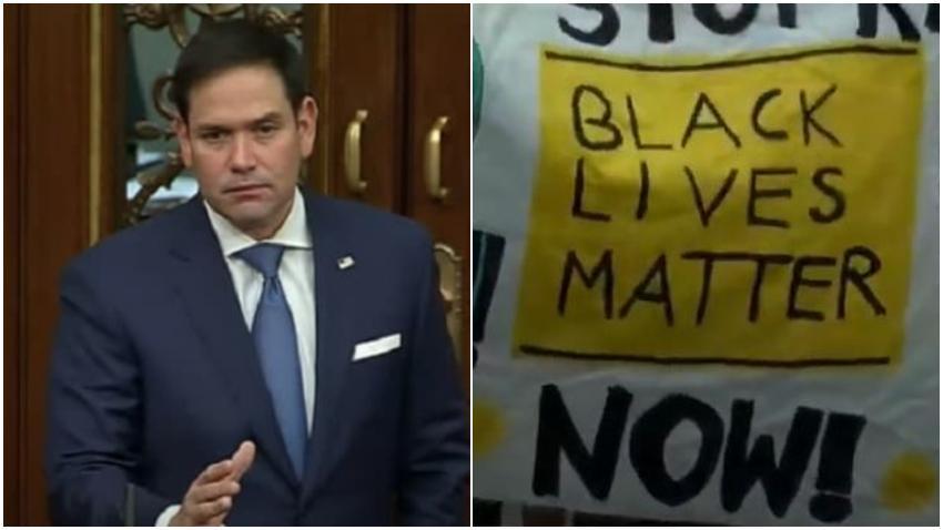 "Marco Rubio: ""Mi oficina ayudará a los líderes de Black Lives Matter a emigrar a Cuba"""