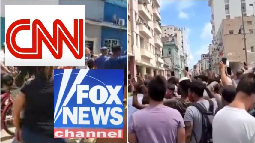 Protesta de miles de cubanos por la libertad llega a los titulares de múltiples medios internacionales