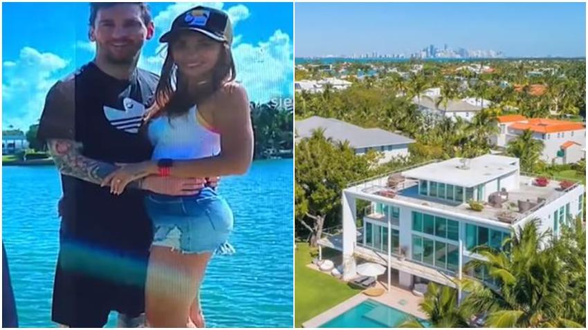 Messi rentó una casa en Miami por $200 mil dólares para pasar sus vacaciones
