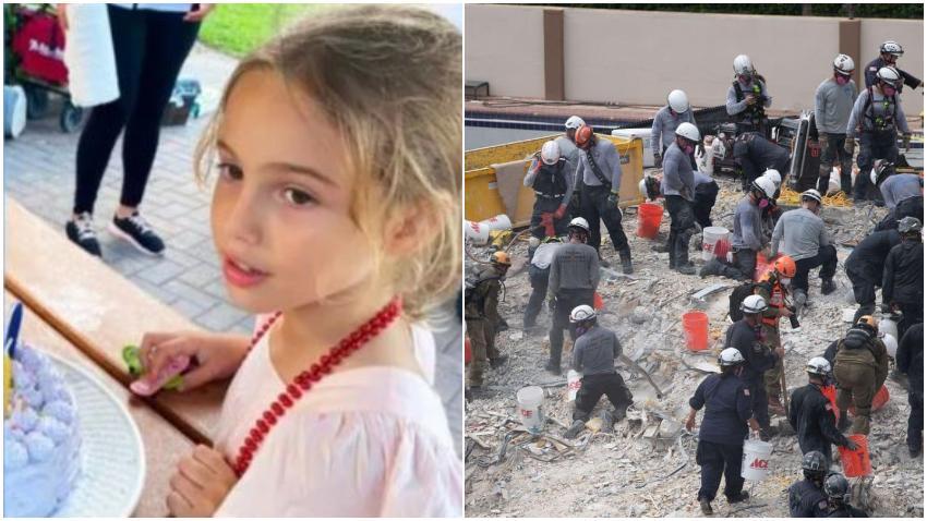 Identifican a la hija del rescatista encontrada en los escombros del edificio colapsado como Stella Cattarossi