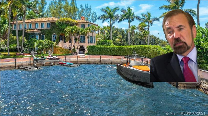Multimillonario de origen cubano Jorge Pérez pone a la venta su mansión en Miami por 33 millones de dólares