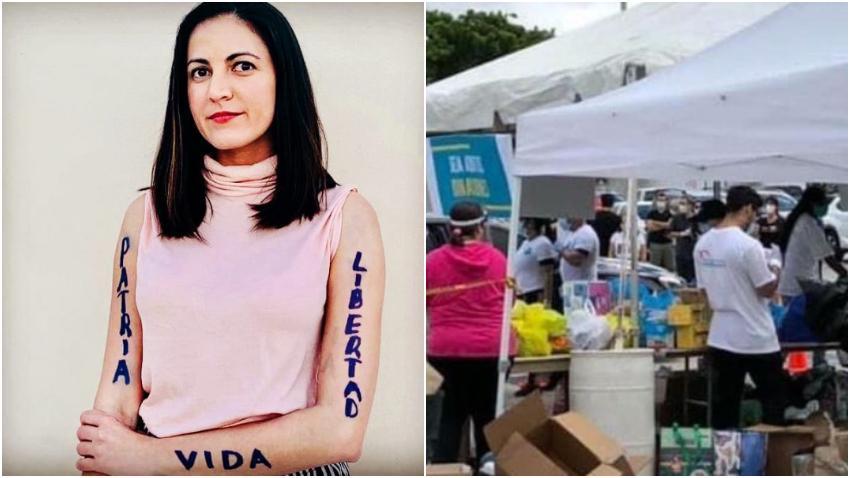 Rosa María Payá recuerda que ya los cubanos en Miami enviaron medicinas alimentos y la dictadura se los robó