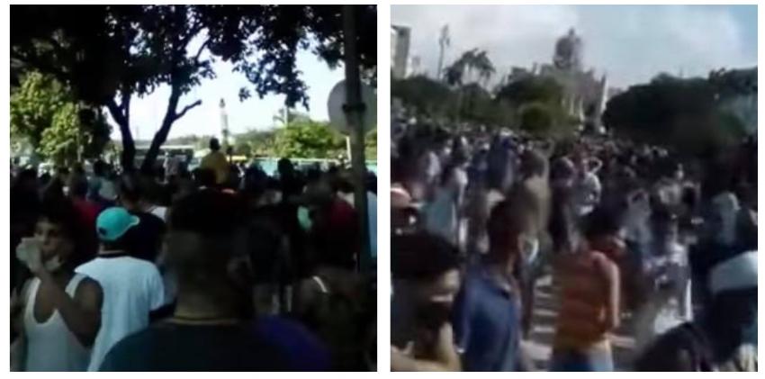 Confirman segunda jornada de protestas en Cuba, pese a la violenta represión