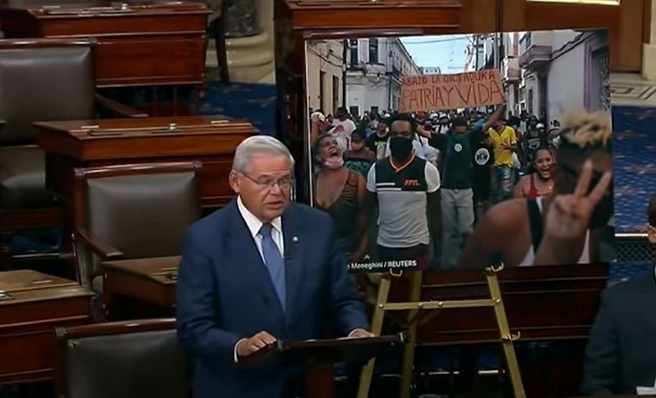 """Senado de EEUU aprueba una resolución para condenar """"la respuesta violenta"""" del régimen  contra el pueblo cubano"""