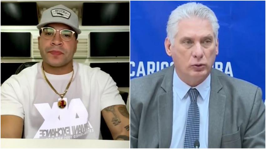 Yomil culpa a Díaz Canel y al gobierno de Cuba de la mala situación que hay en la isla