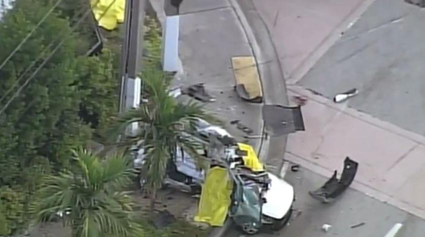 Aparatoso accidente en Miami-Dade deja tres muertos y un herido grave