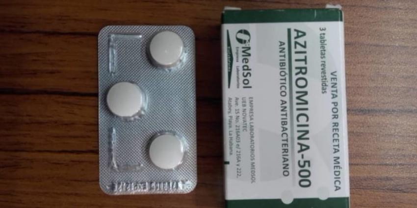 La azitromicina puede llegar a costar en el mercado informal cubano hasta 7.000 pesos
