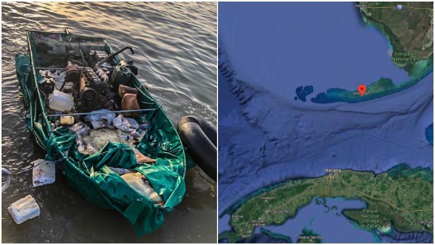 Detienen a 13 balseros cubanos que llegaron a los Cayos de la Florida